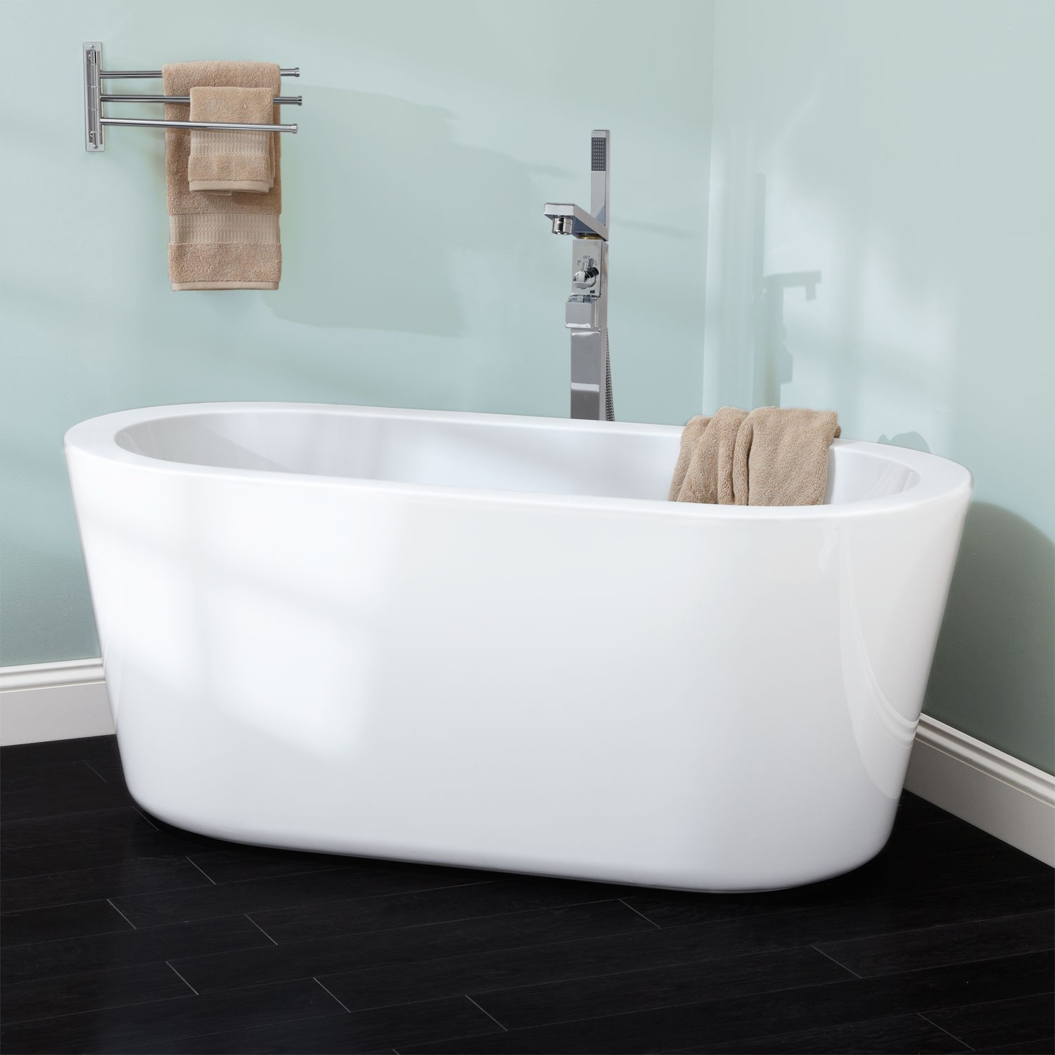 55 Abescon Acrylic Freestanding Tub Bathroom intended for dimensions 1500 X 1500