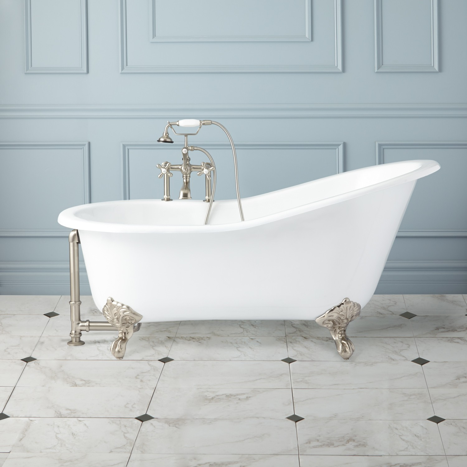 Cast Iron Clawfoot Bathtub Weight • Bathtub Ideas
