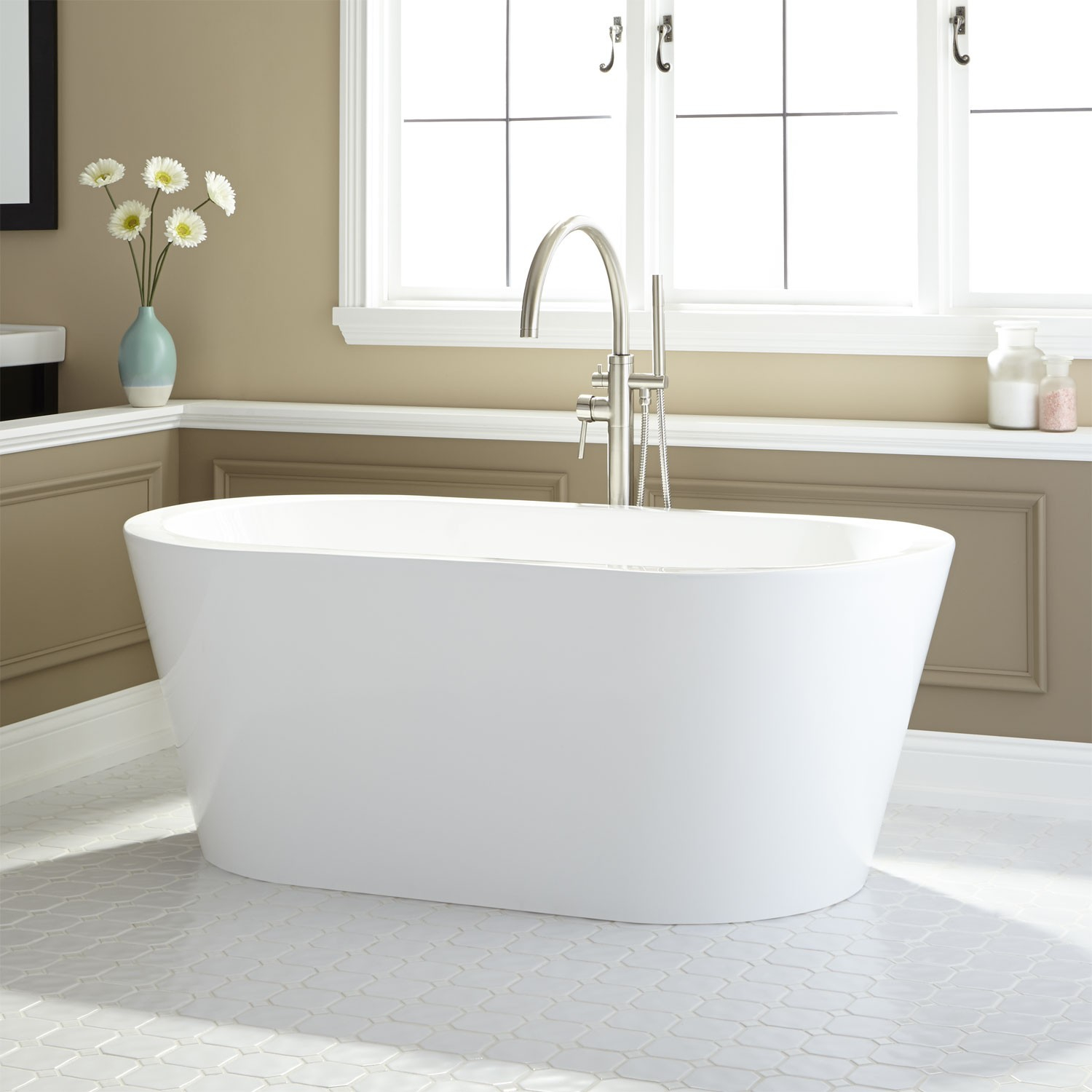 72 Inch Freestanding Soaker Tub Bathtub Understanding inside sizing 1500 X 1500