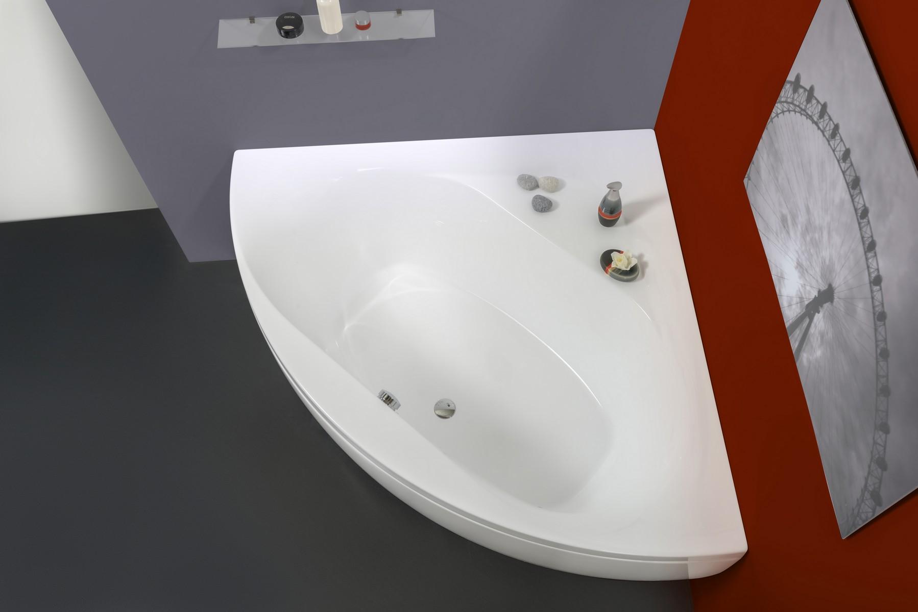 Aquatica Olivia Wht Small Corner Acrylic Bathtub within proportions 1798 X 1200