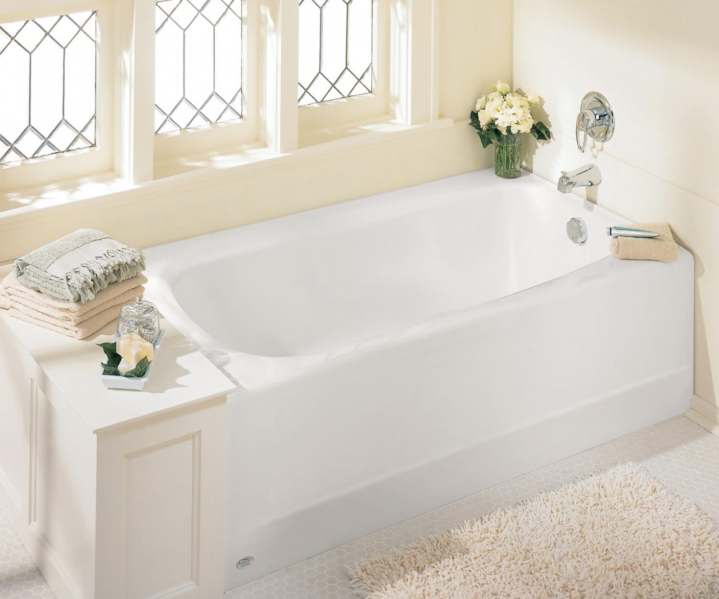 Genial Bathroom American Standard 2461002020 Cambridge 5 Feet Bath Tub With  Dimensions 1470 X 1224