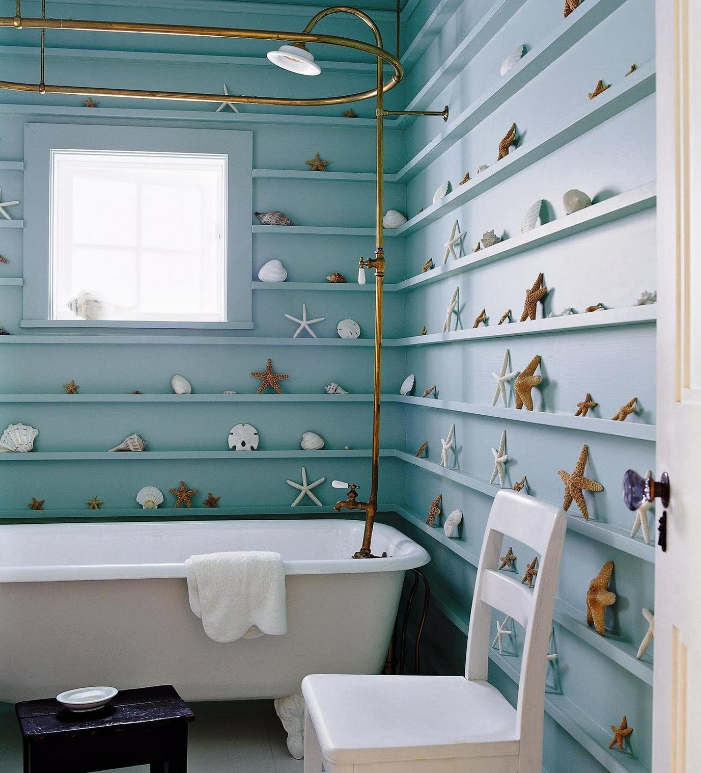 Bathroom Wall Shelves Ideas Creative Bathroom Decoration intended for dimensions 1377 X 1517