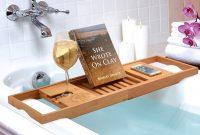 Bathtub Teak Tray Umbra Bathroom Ideas regarding dimensions 1403 X 1080