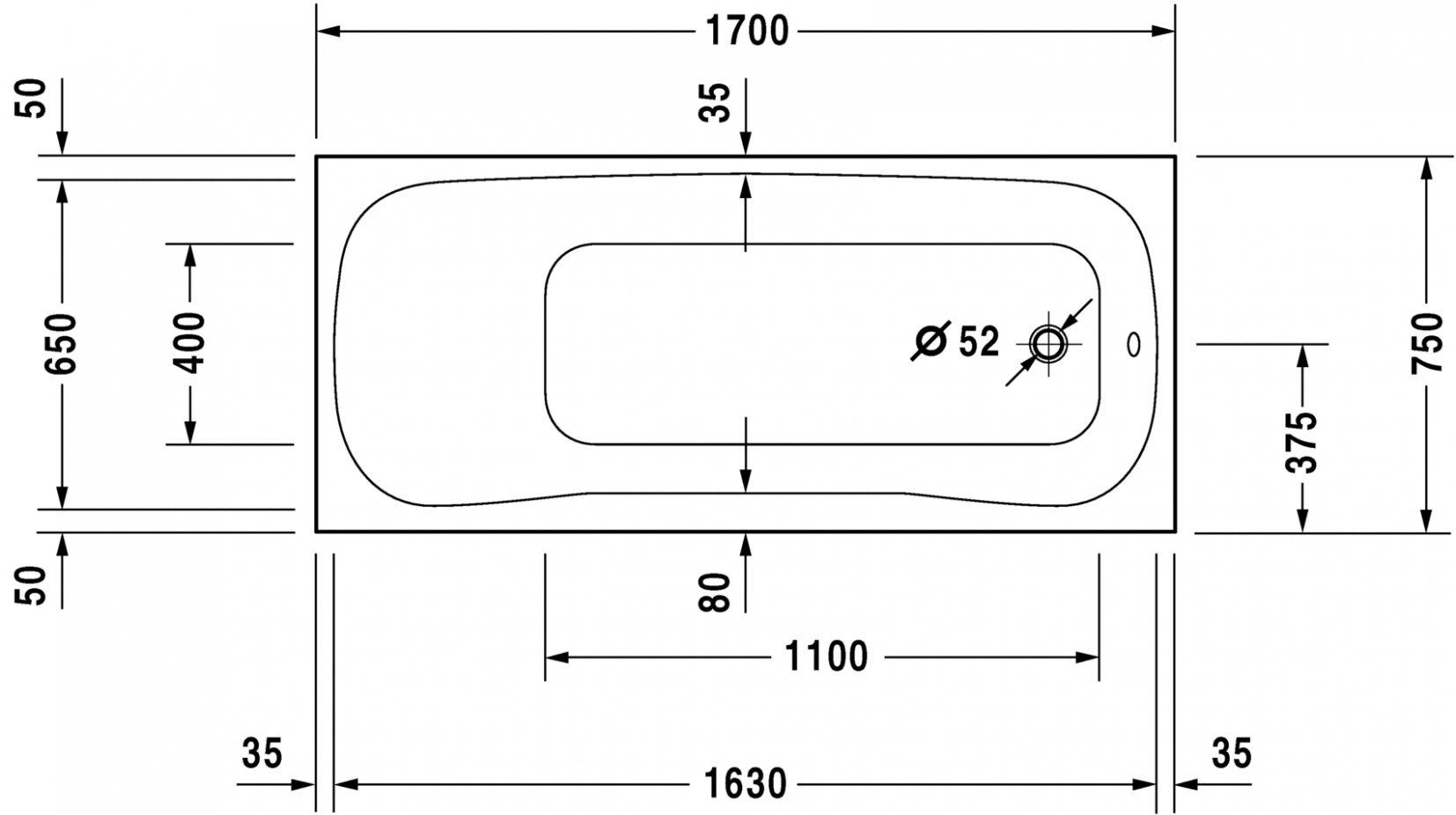 Average Bathtub Measurements Bathtub Ideas