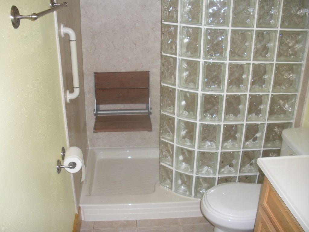 Charming Bathtub To Gl Block Walk In Shower Conversion Tub At Inside Proportions 1024 X 768