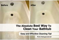 Cleaning Bathtub Home Decor Remodeling Ideas Bellevillenj pertaining to sizing 1360 X 906