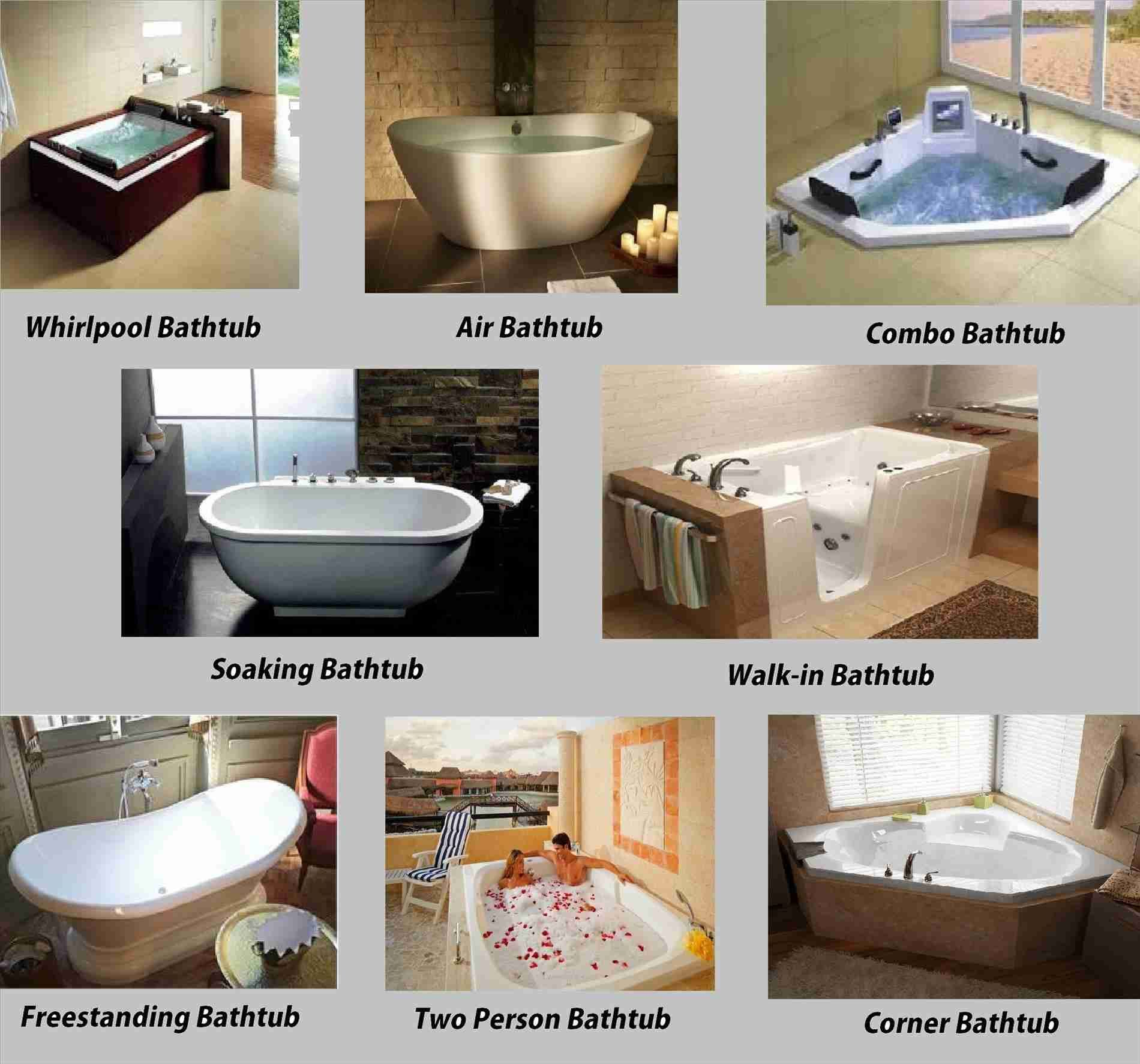 Different Types Of Bathtub Materials • Bathtub Ideas