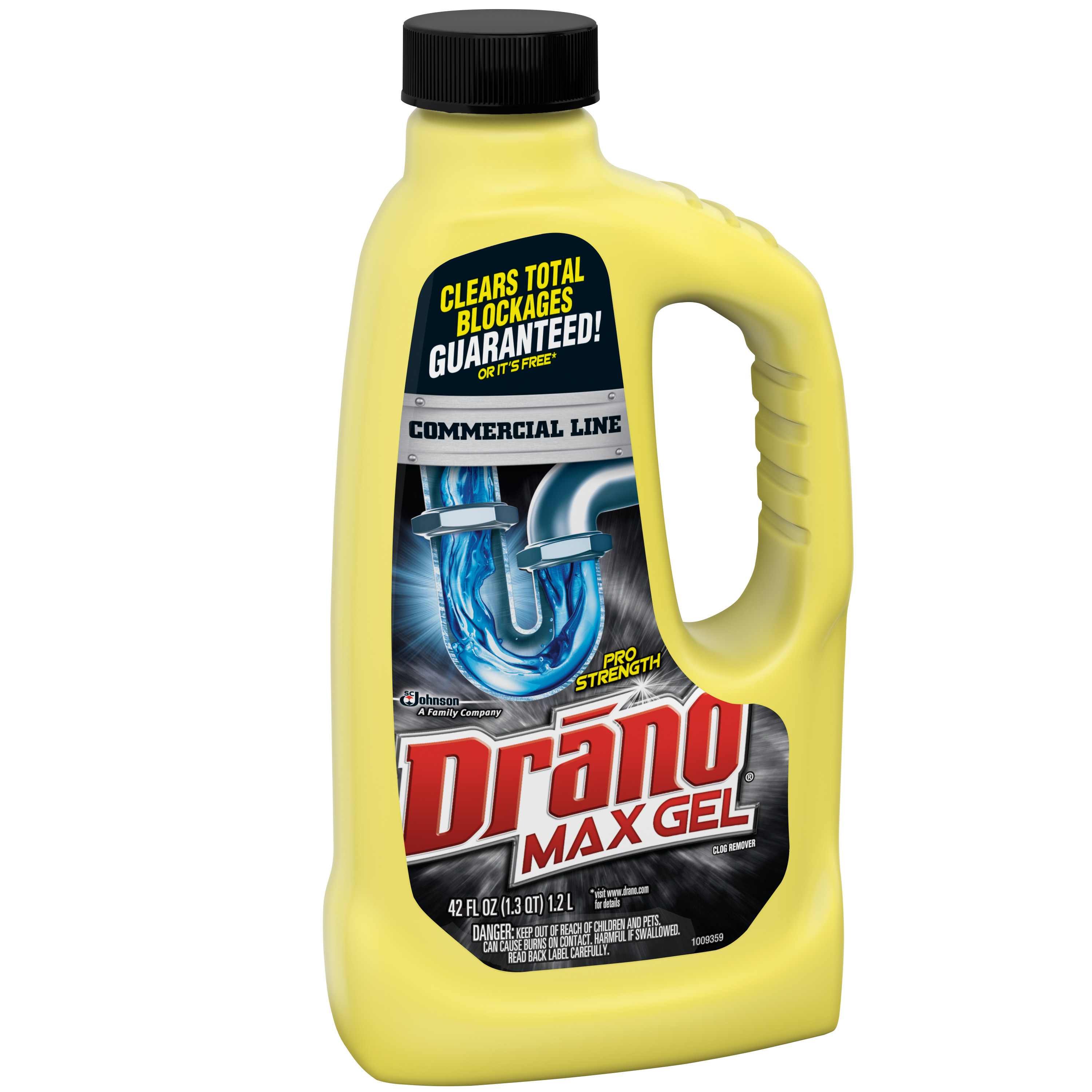 Drano Max Gel Clog Remover Commercial Line 42 Fluid Ounces Walmart throughout dimensions 3000 X 3000