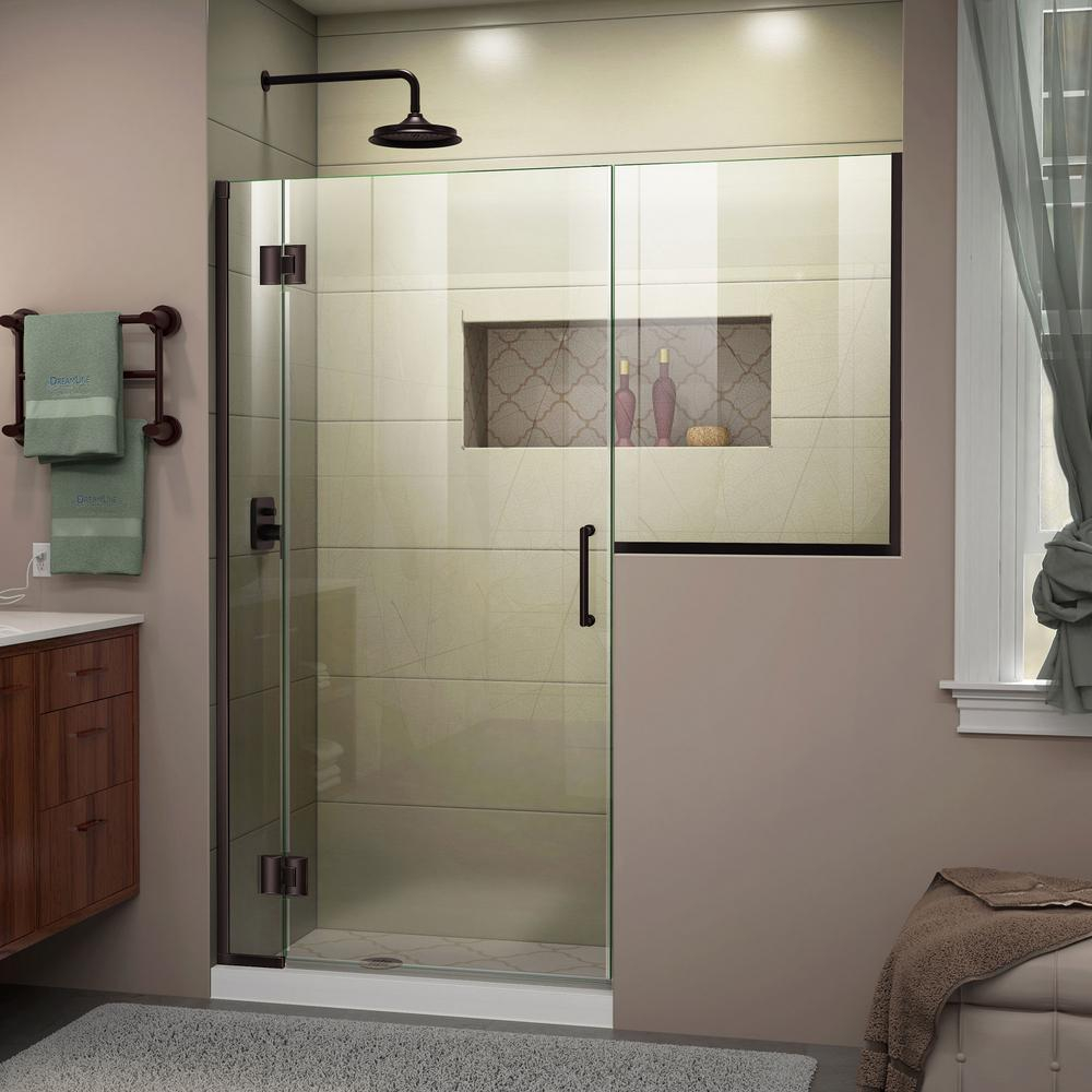 Oil Rubbed Bronze Frameless Bathtub Doors Bathtub Ideas