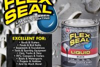 Flex Seal Liquid Rubber Sealant Coating Use Clear Color To Seal for proportions 1000 X 1000