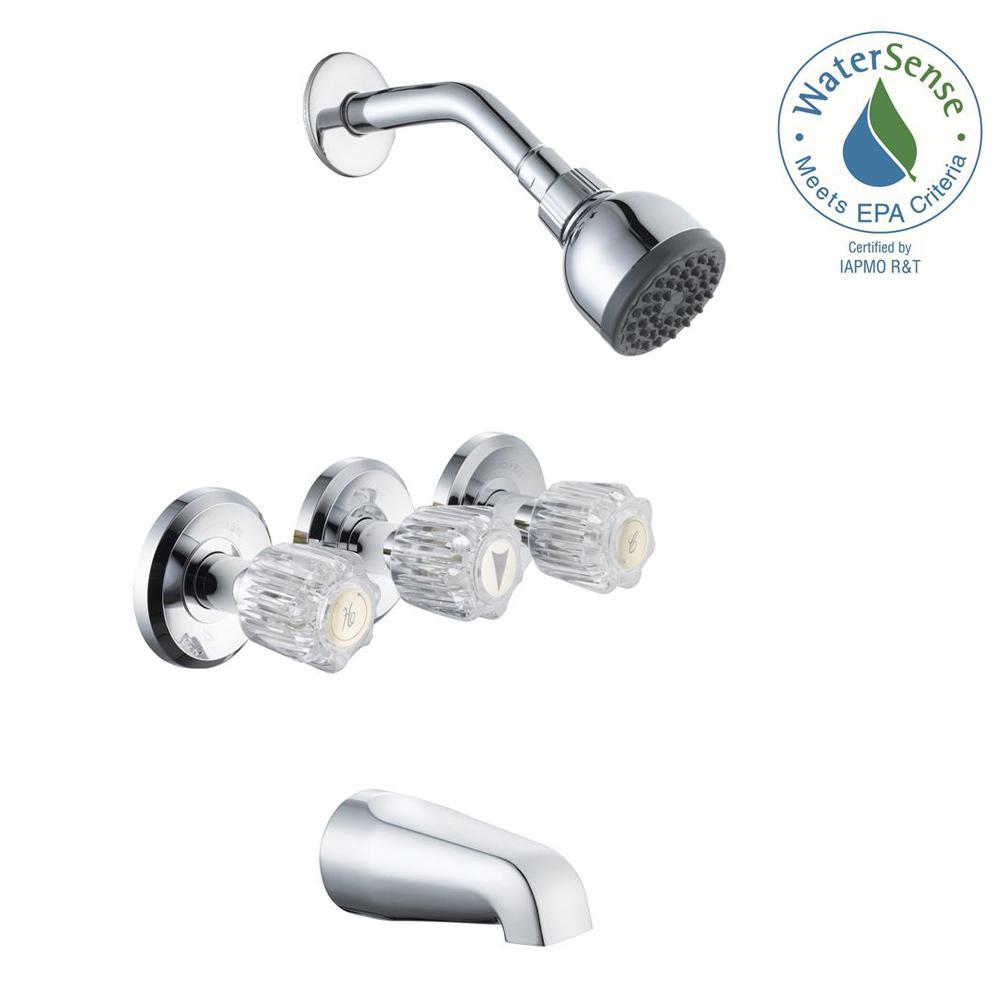 Glacier Bay Bathtub Shower Faucet Combos Bathtub Faucets The for dimensions 1000 X 1000