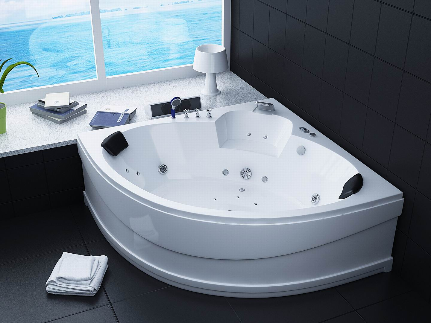 Jacuzzi Bathtub White Bathtub Pleasant Massage With Jacuzzi Bathtub  Intended For Measurements 1440 X 1080