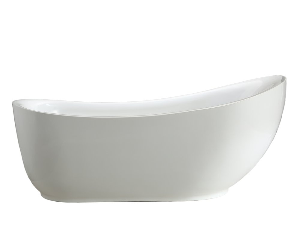 Mtdvanities Zuma 71 X 34 Soaking Bathtub Reviews Wayfair intended for measurements 1000 X 800