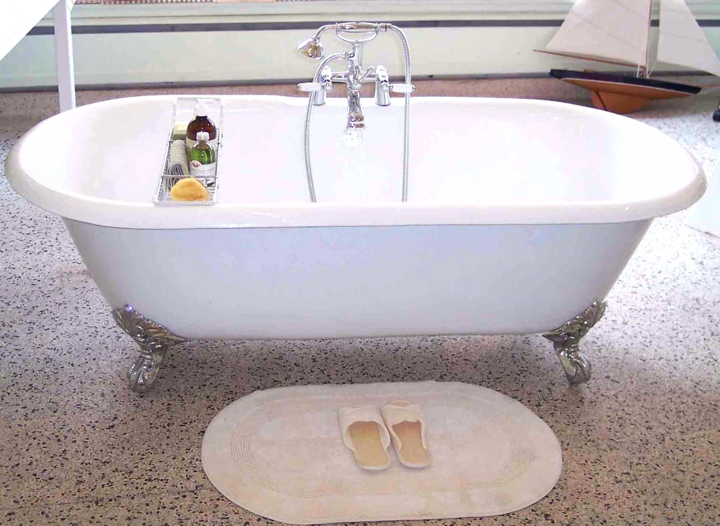 Refinish Cast Iron Bathtub Yourself • Bathtub Ideas