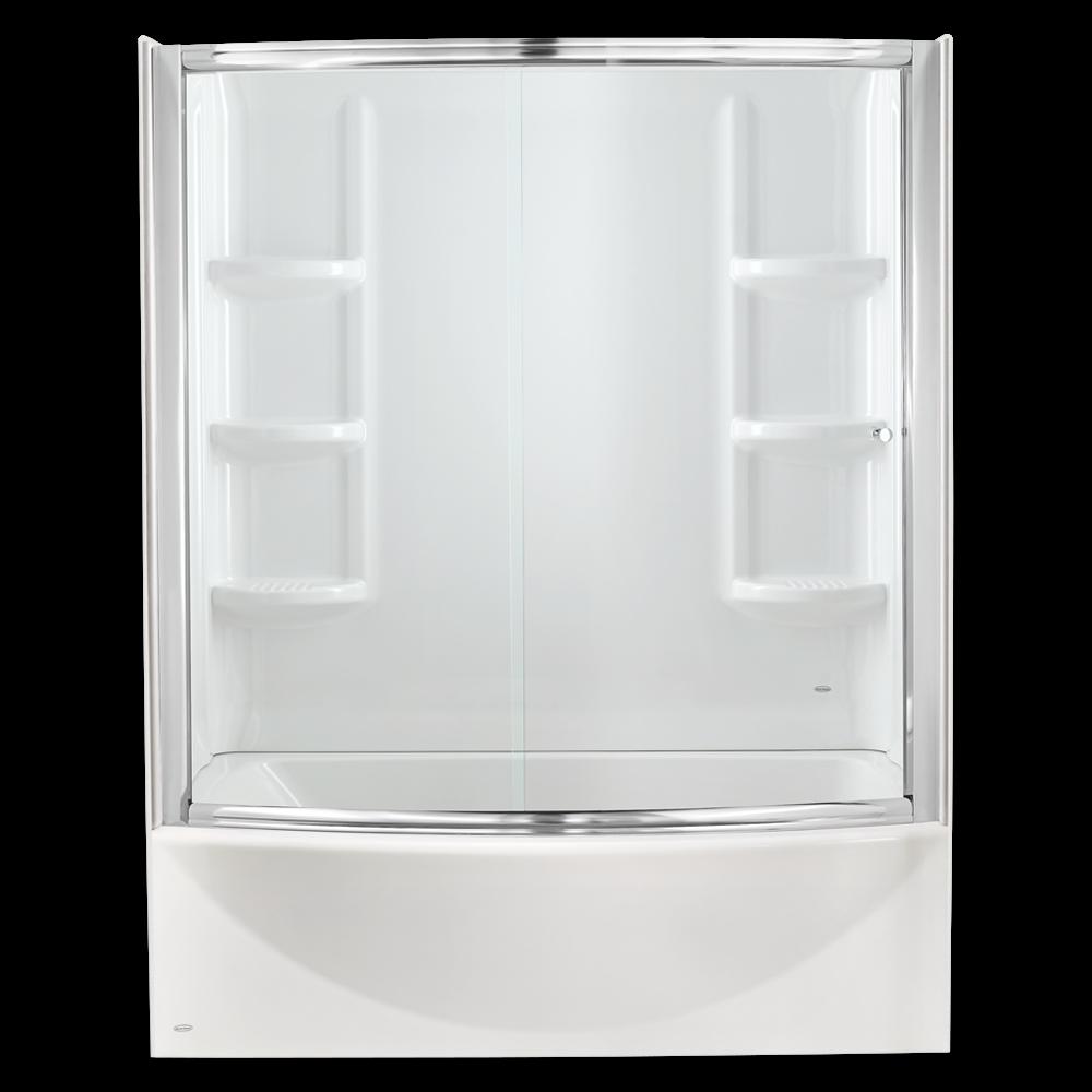 Curved Bathtub Shower Doors Bathtub Ideas