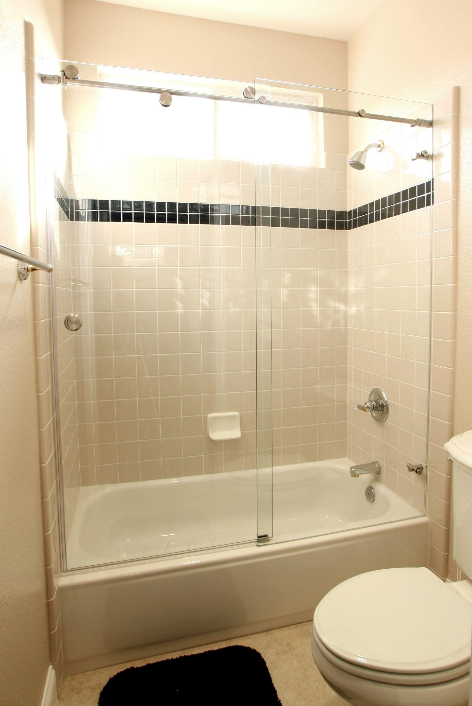 Extra Wide Bathtub Door • Bathtub Ideas