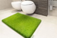 Thick Bathroom Carpet Green 6 Sizes Available pertaining to proportions 1600 X 1200