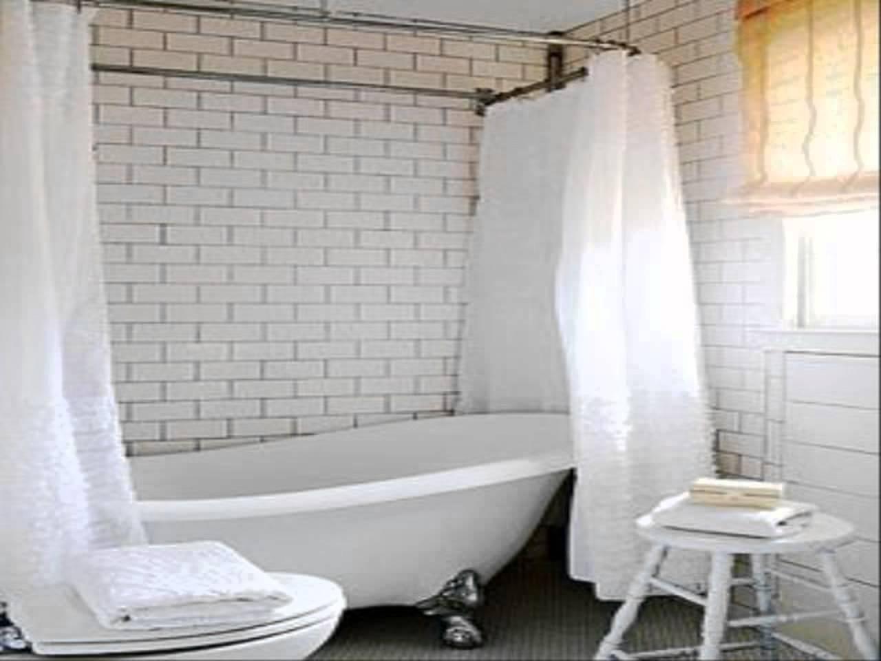 Bathroom Bathtub Curtains • Bathtub Ideas