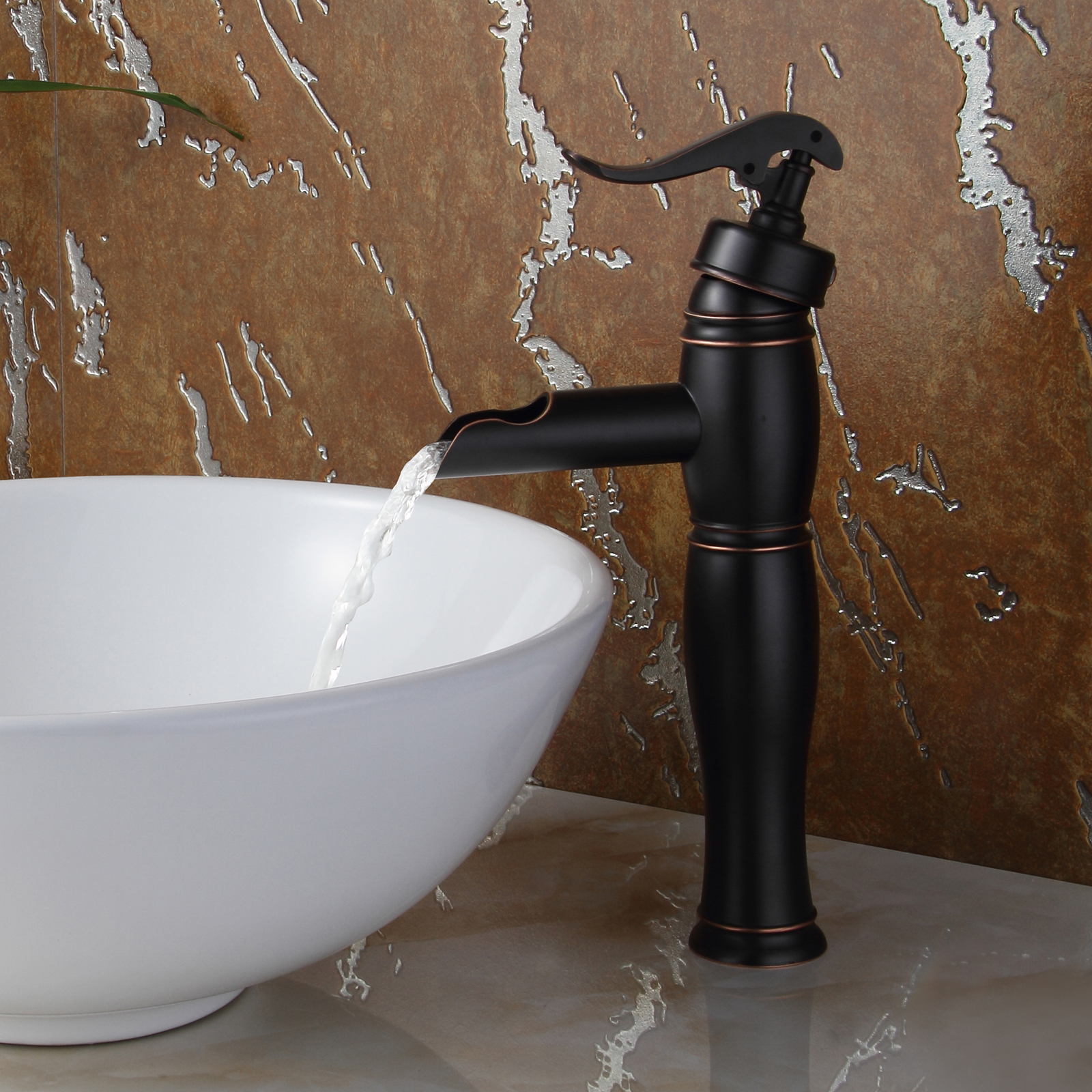 8828orb Elite Oil Rubbed Bronze Single Lever Tall Vessel Sink Faucet pertaining to dimensions 1600 X 1600
