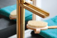 Aqua Brushed Gold Luxury Bathroom Faucet with dimensions 1000 X 1000