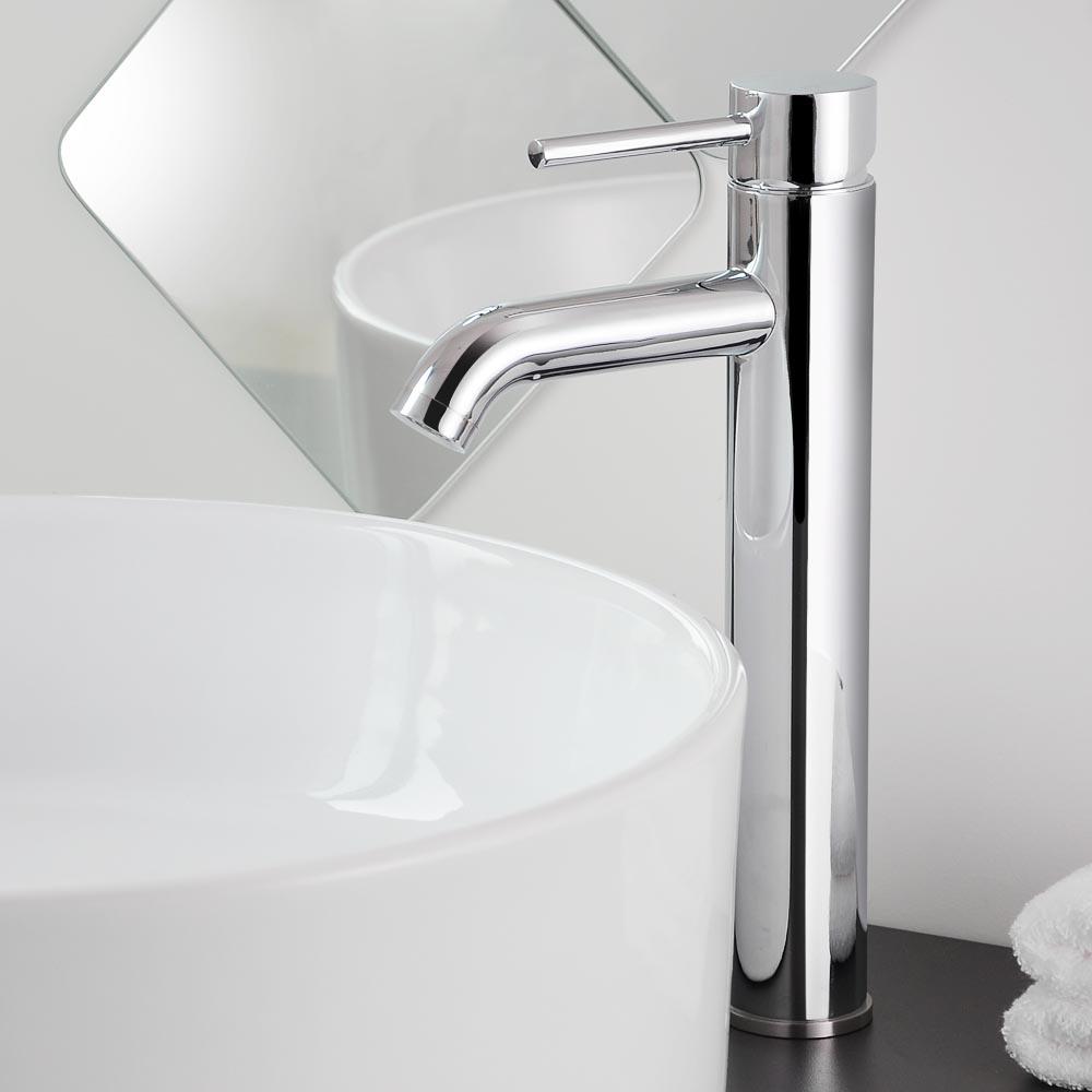 Aquaterior 12 12 Tall Bathroom Faucet Vessel Sink Single Handle inside proportions 1000 X 1000