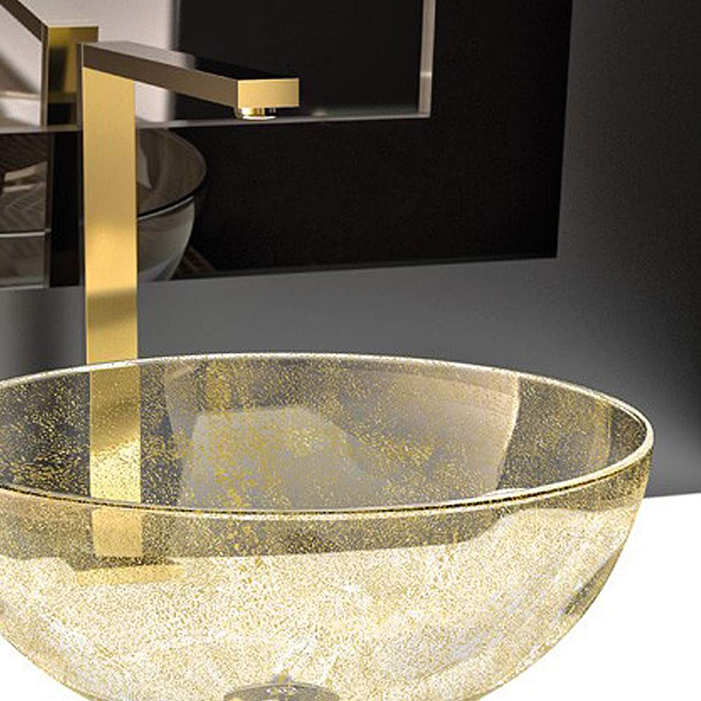 Bello Fancy Bath Faucet Brushed Gold regarding proportions 1000 X 1000