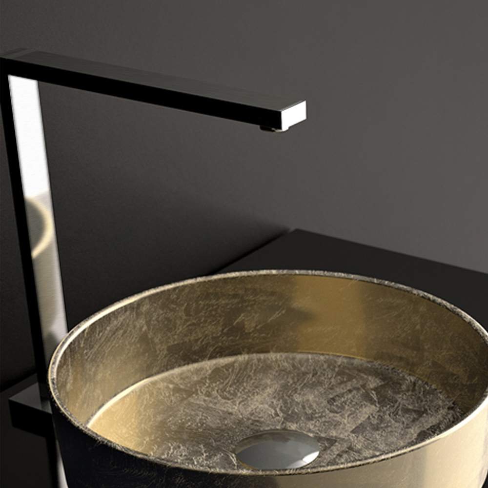 Bello Ultra Modern Bathroom Faucet Brushed Chrome regarding dimensions 1000 X 1000