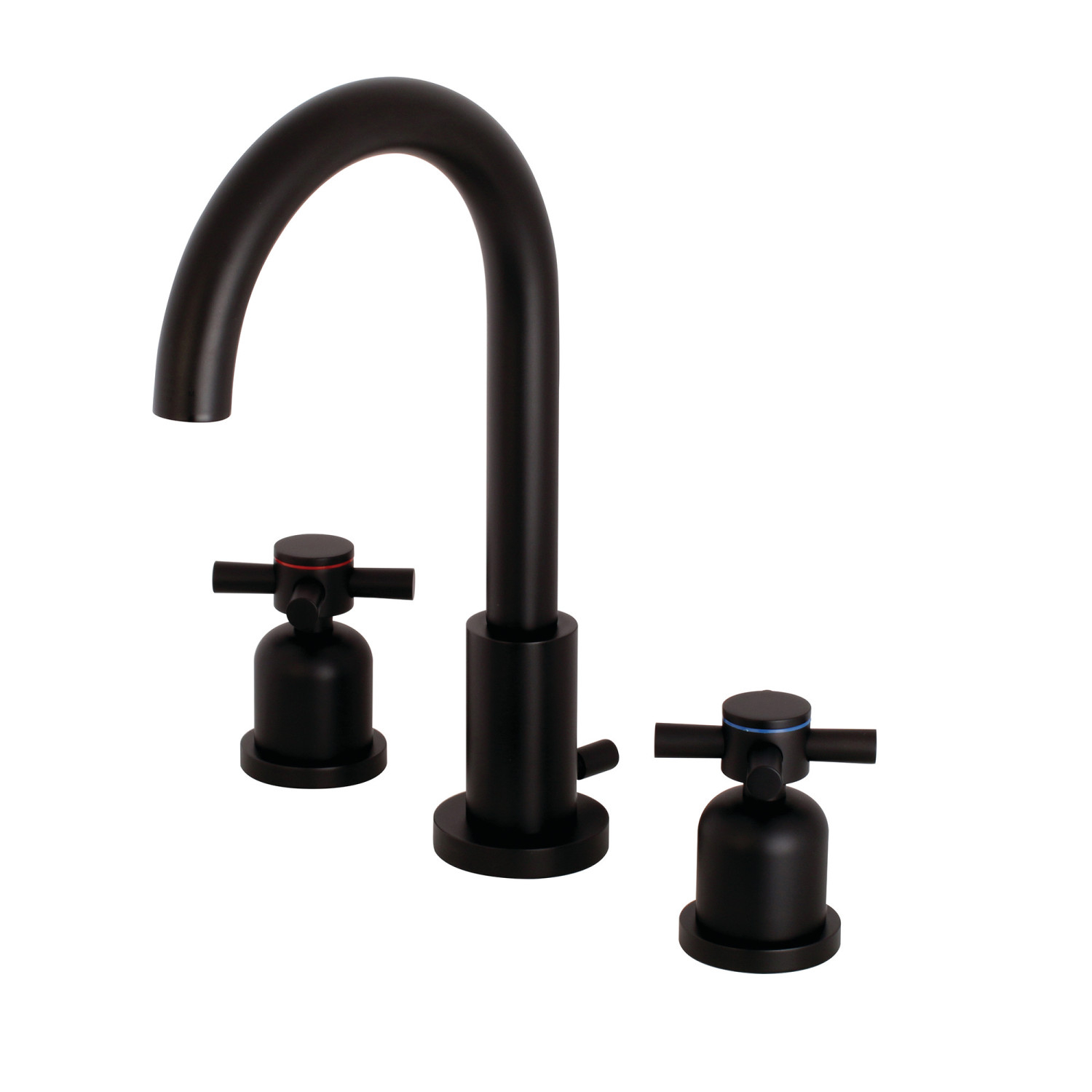 Fauceture Fsc8920dx Concord Widespread Bathroom Faucet Matte Black in dimensions 1500 X 1500