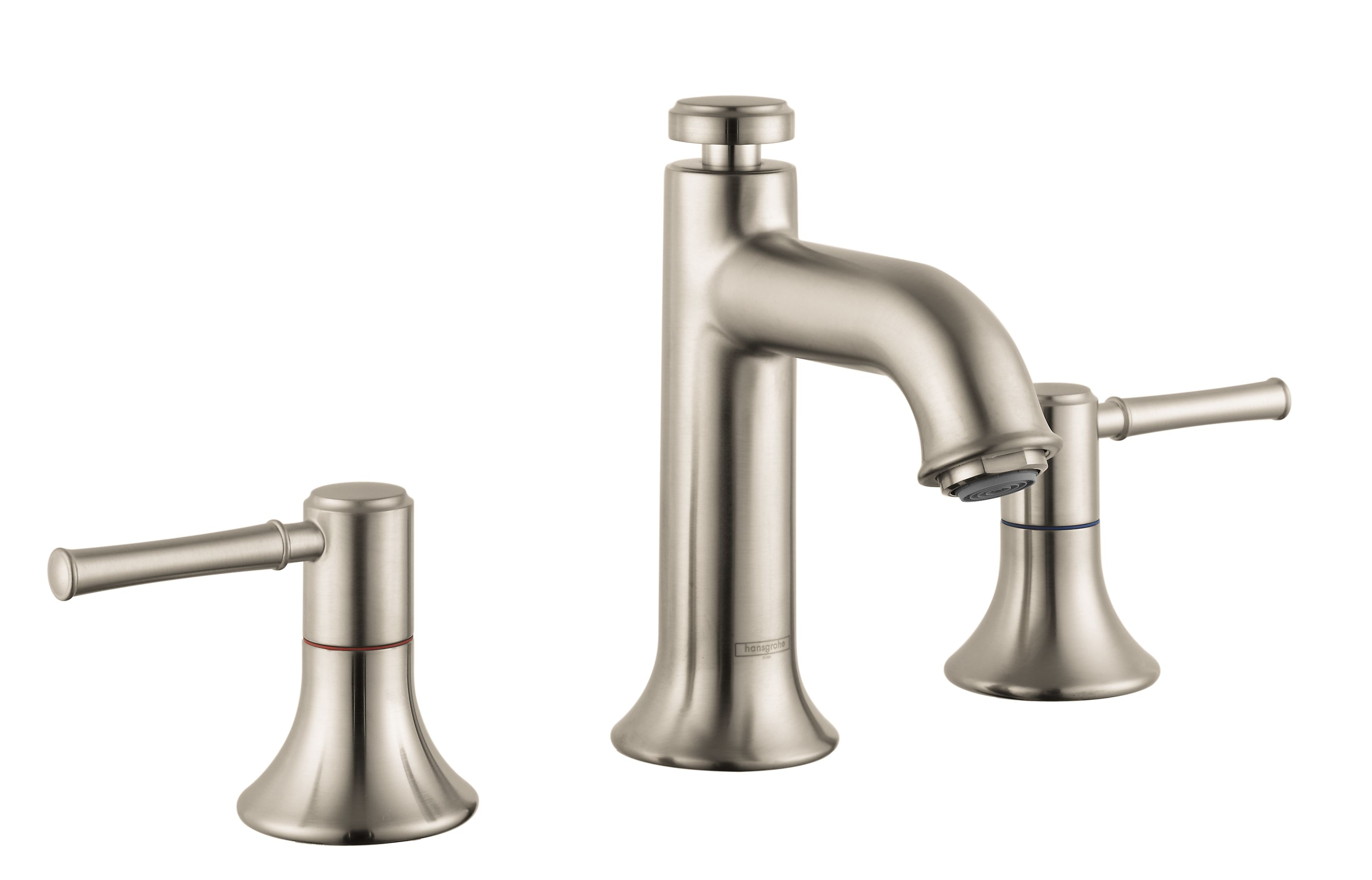Hansgrohe 14113821 Brushed Nickel Talis C 12 Gpm Widespread intended for proportions 3372 X 2162