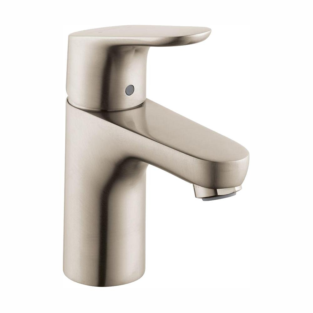 Hansgrohe Focus 100 Single Hole 1 Handle Bathroom Faucet In Brushed inside dimensions 1000 X 1000