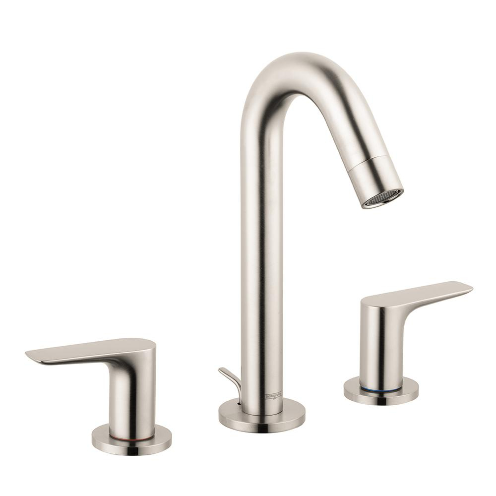 Hansgrohe Logis 150 8 In Widespread 2 Handle Bathroom Faucet With inside size 1000 X 1000