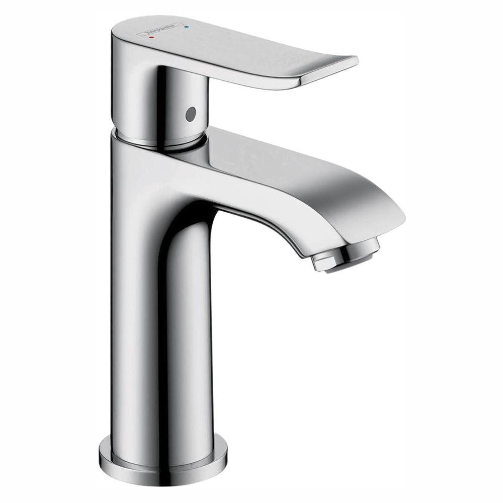 Hansgrohe Metris E 100 Single Hole 1 Handle Low Arc Bathroom Faucet throughout sizing 1000 X 1000