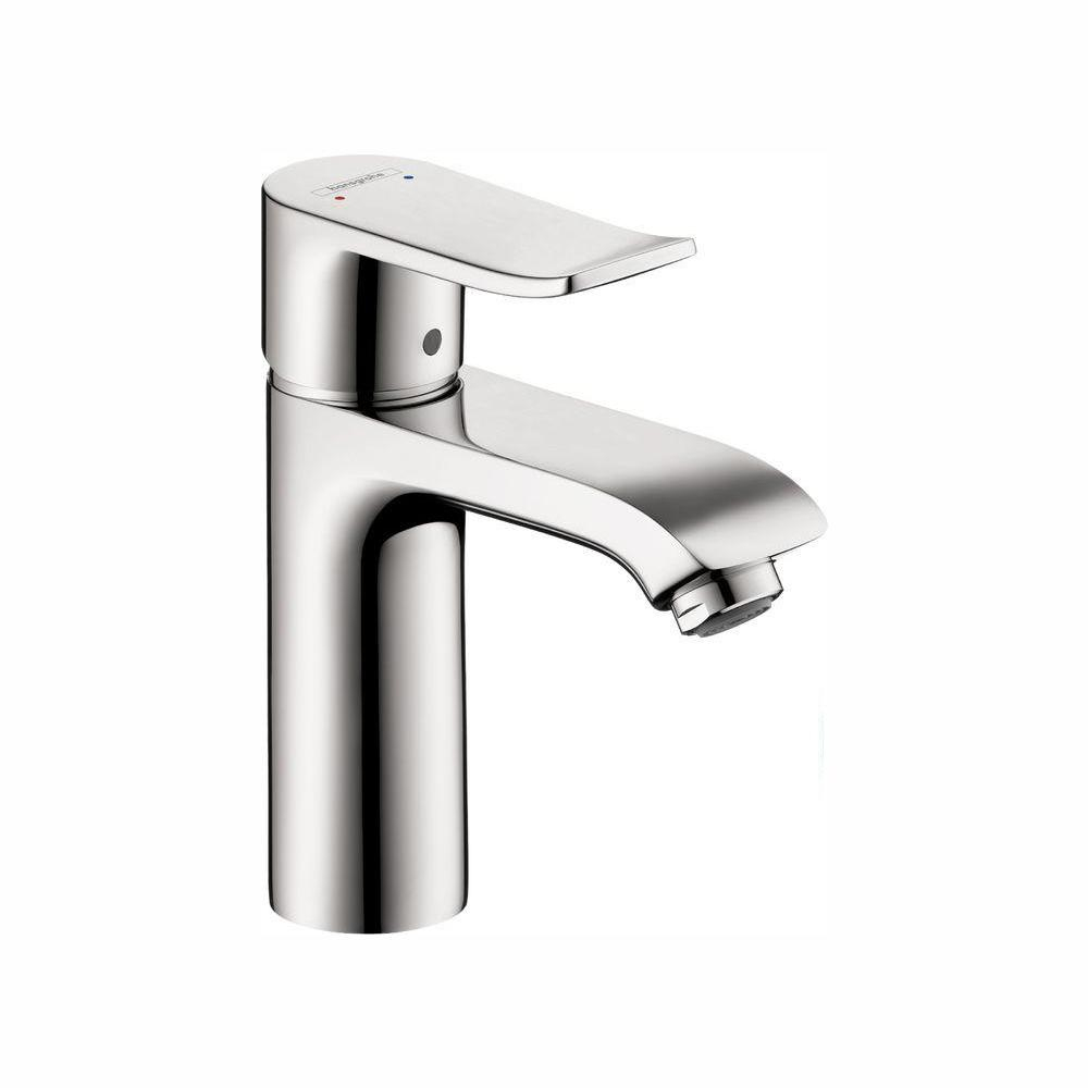 Hansgrohe Metris Single Hole 1 Handle Low Arc Bathroom Faucet In with regard to size 1000 X 1000