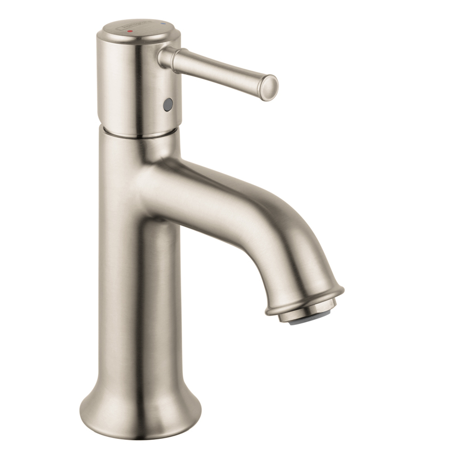 Hansgrohe Talis C Brushed Nickel 1 Handle Single Hole Watersense pertaining to dimensions 900 X 900