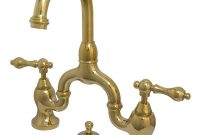 Kingston Brass 8 In Widespread 2 Handle High Arc Bridge Bathroom within proportions 1000 X 1000