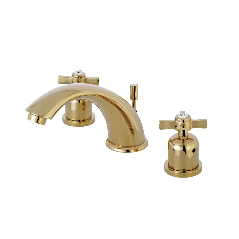 Kingston Brass Cross 8 In Widespread 2 Handle Mid Arc Bathroom inside dimensions 1000 X 1000