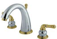 Kingston Brass Ks2964 8 In Widespread Bathroom Faucet Polished regarding size 1000 X 1000