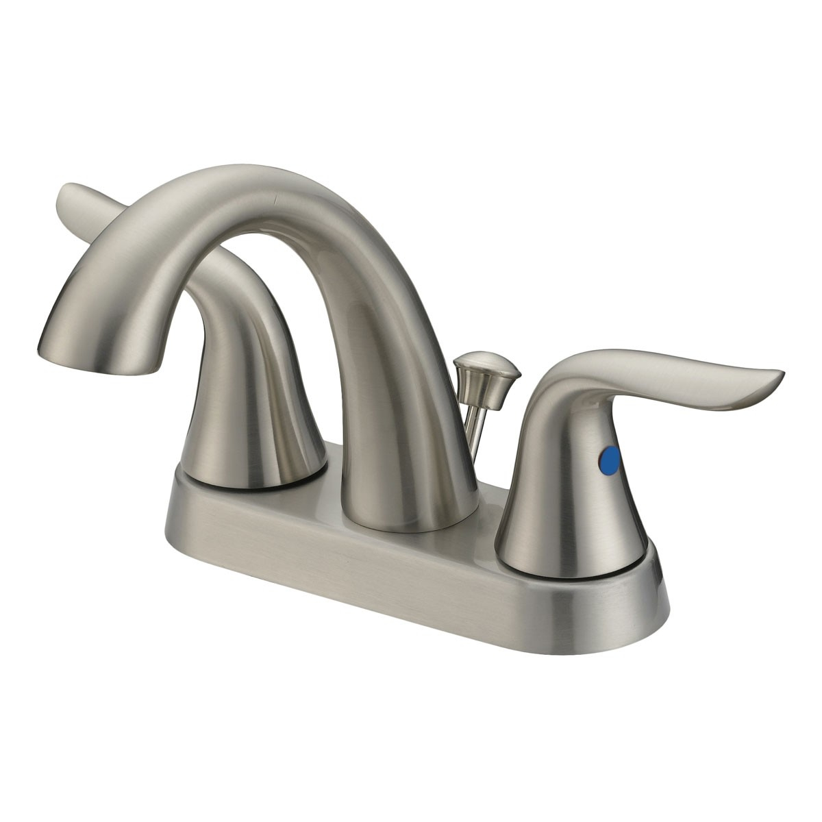 Lb5b Barbathroom Faucet Brushed Nickel Finish 4 In Spread for sizing 1200 X 1200