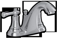 Lyncroft 2 Handle 4 Inch Centerset Bathroom Faucet American Standard with regard to size 1000 X 1000