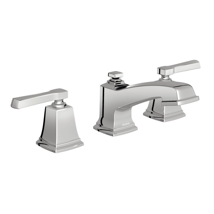 Moen Boardwalk 2 Handle Widespread Watersense Bathroom Sink Faucet regarding dimensions 900 X 900