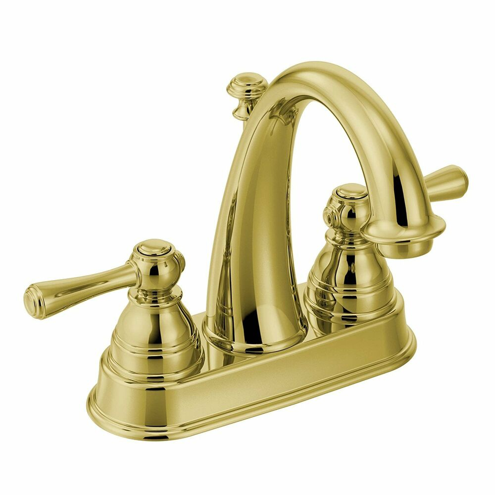 Moen Kingsley 4 In Centerset 2 Handle High Arc Bathroom Faucet intended for sizing 1000 X 1000