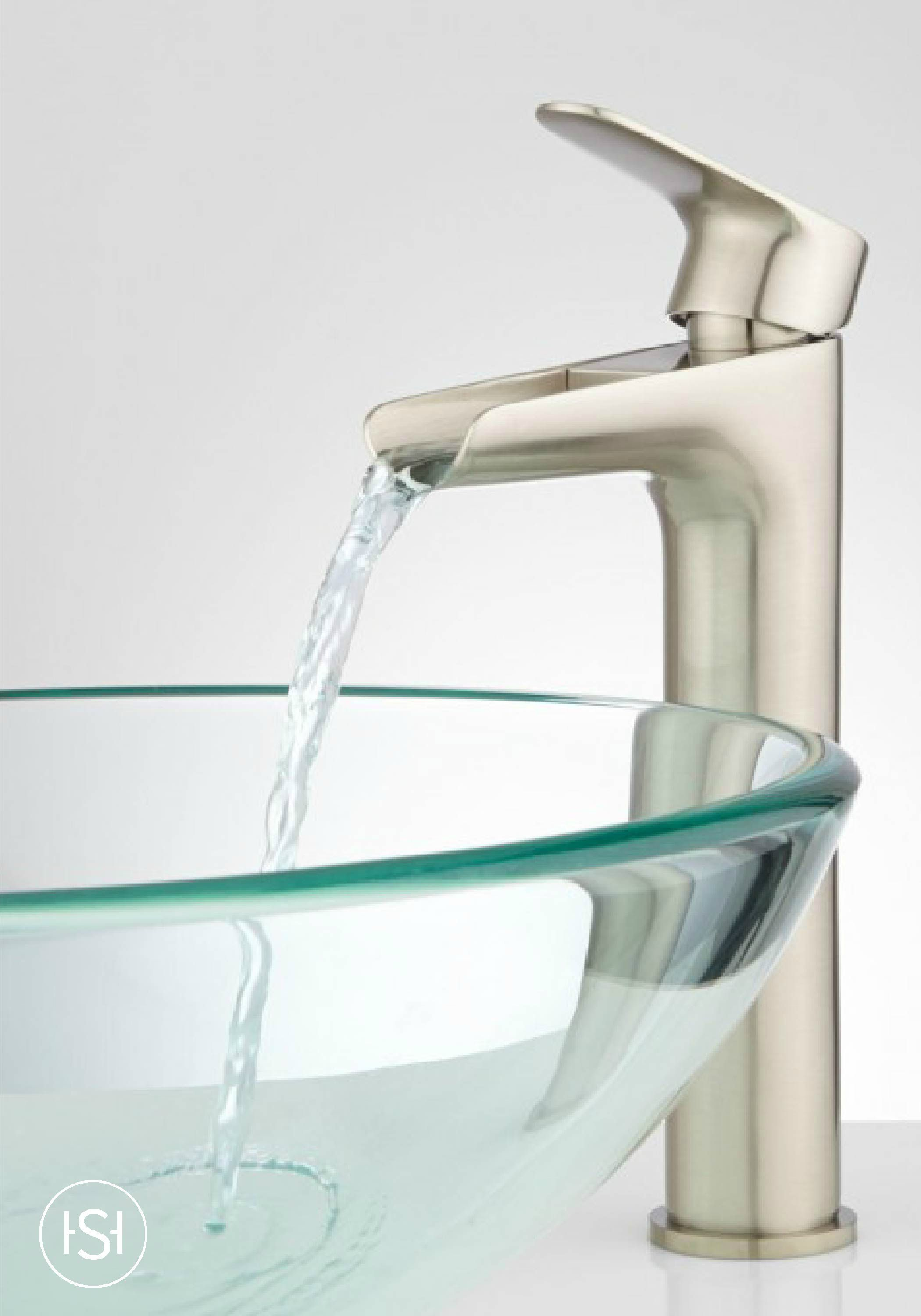 Pagosa Waterfall Vessel Faucet The Signature Bathroom Vessel with regard to dimensions 2100 X 3000