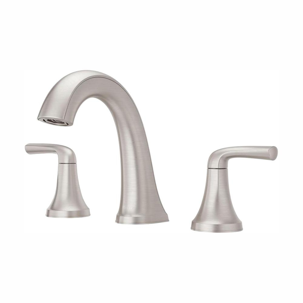 Pfister Ladera 8 In Widespread 2 Handle Bathroom Faucet In Spot intended for size 1000 X 1000