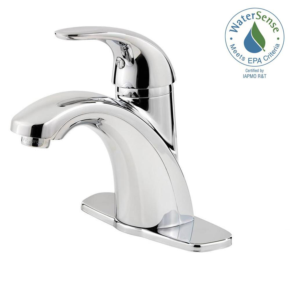 Pfister Parisa 4 In Centerset Single Handle Bathroom Faucet In within proportions 1000 X 1000