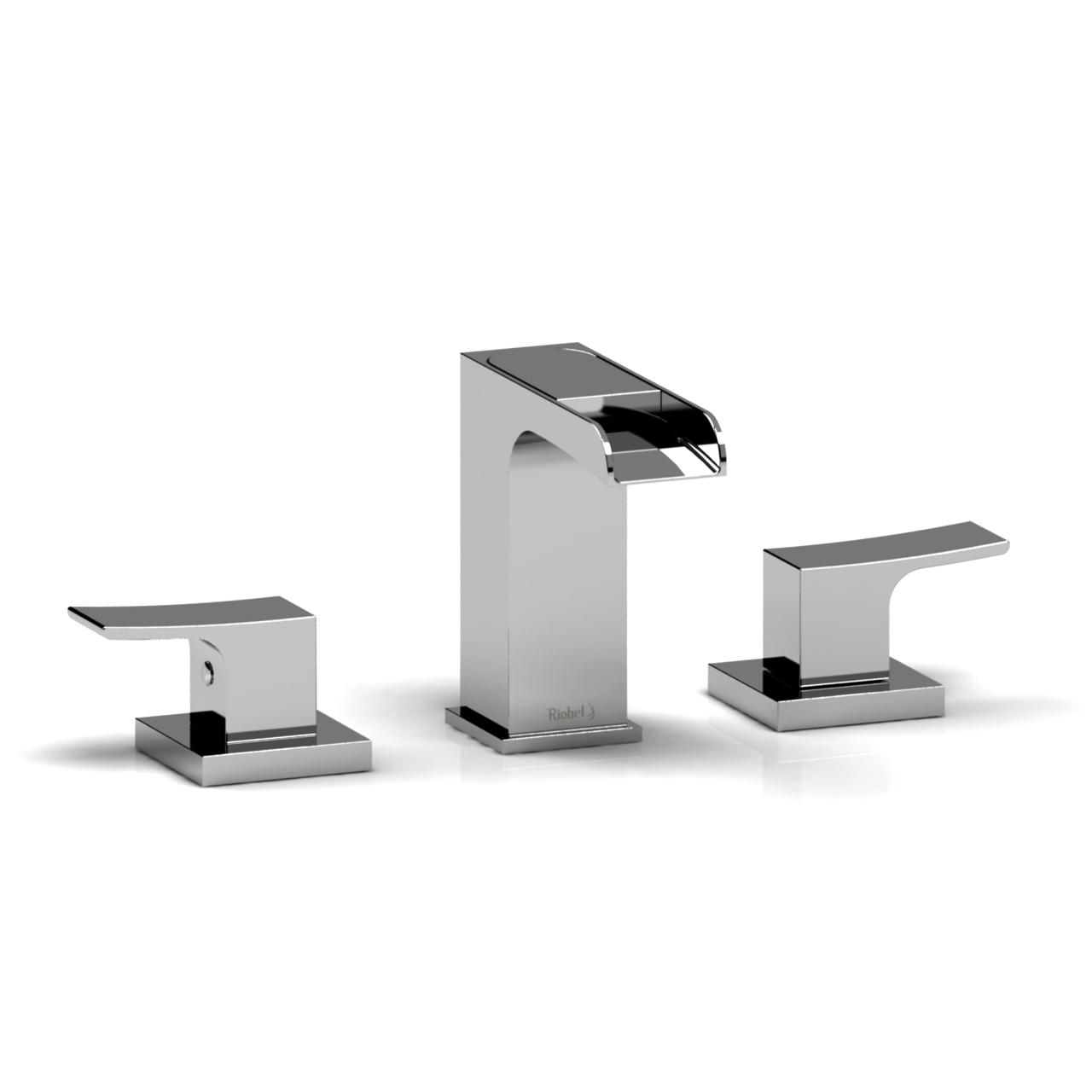 Riobel Zendo 8 8243 Lavatory Open Spout Faucet Zoop08 Bathroom throughout proportions 1280 X 1280
