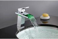 Sumerain Waterfall Single Hole Bathroom Faucet Reviews Wayfair throughout measurements 1500 X 1500