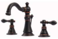 Ultra Faucets Signature Collection 8 In Widespread 2 Handle with measurements 1000 X 1000