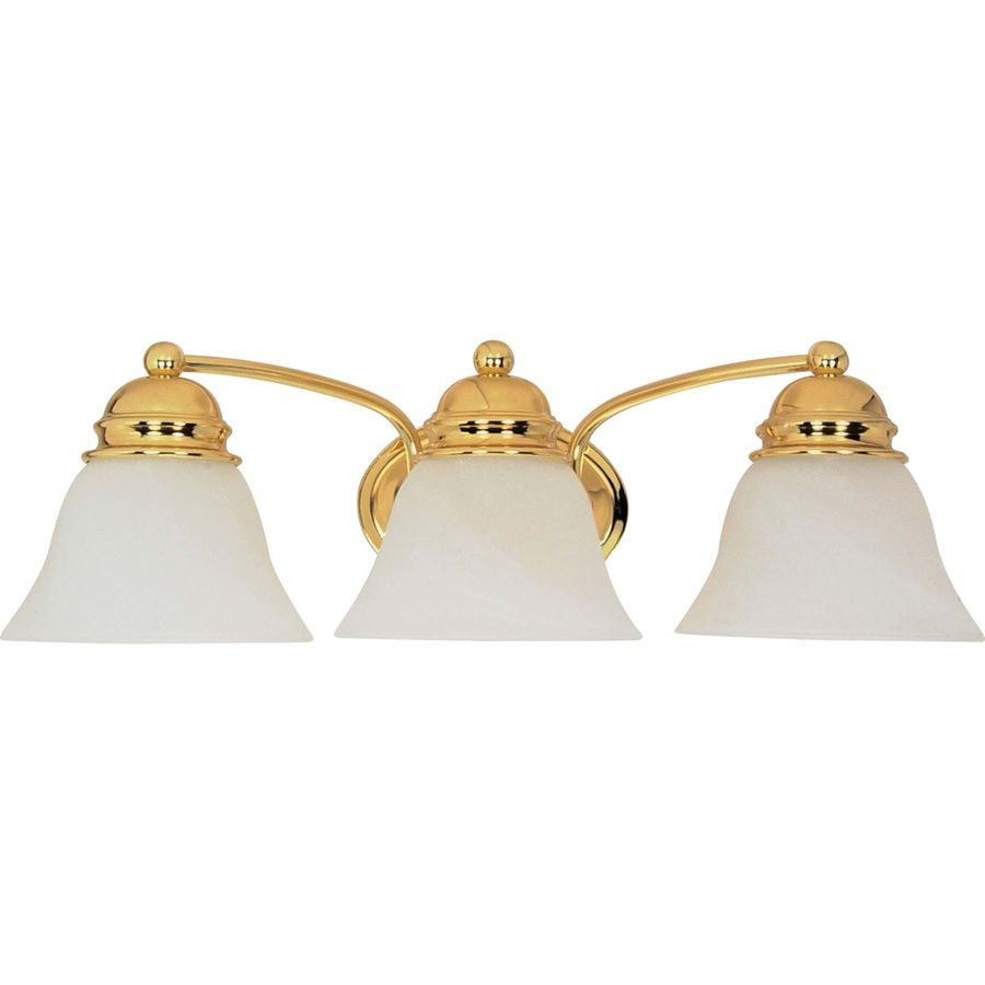 3 Light Polished Brass Vanity Light Tiffs Room Vanity in dimensions 900 X 900