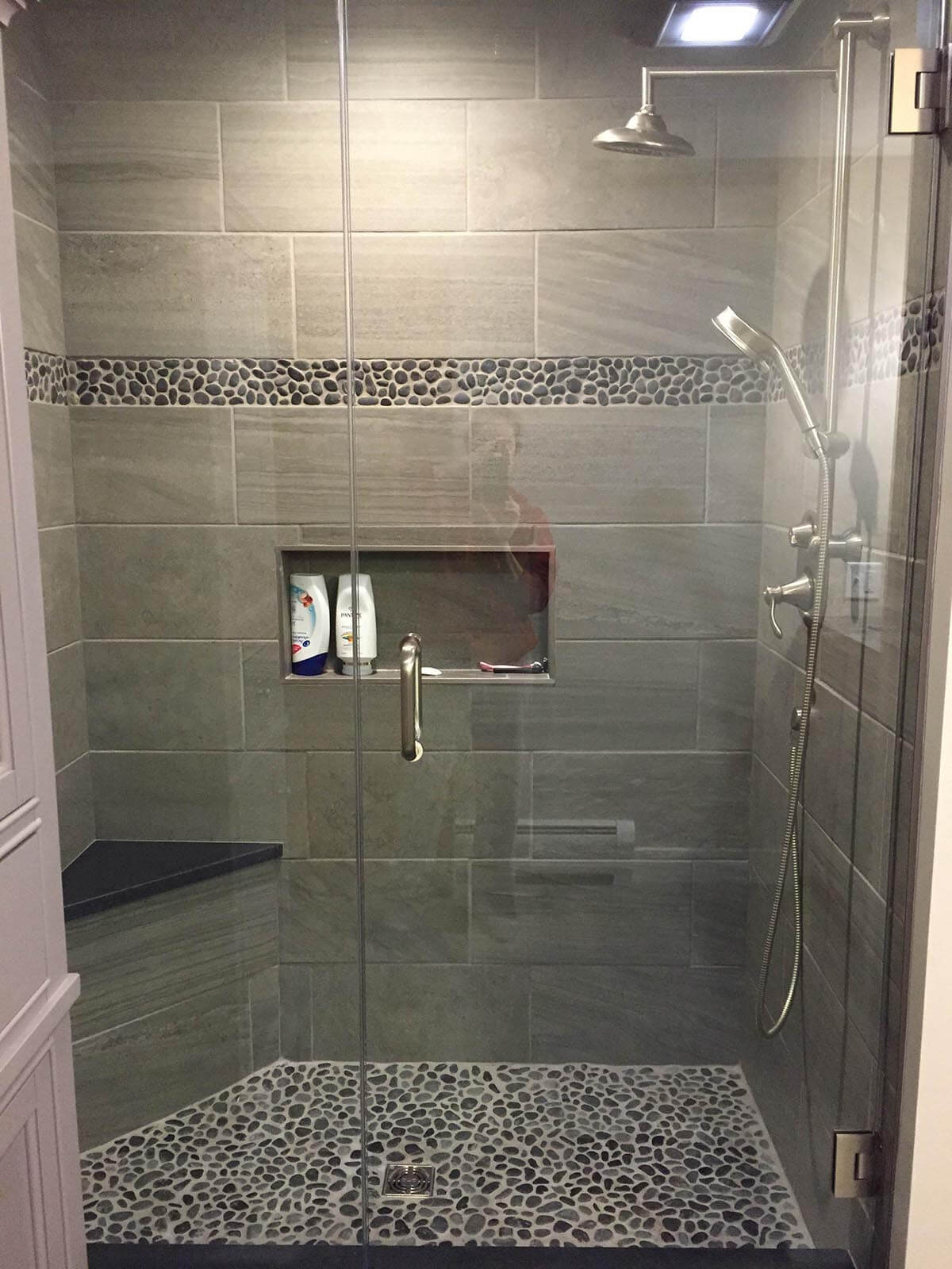 32 Best Shower Tile Ideas And Designs For 2019 within sizing 1200 X 1600