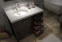 37 Inch Single Bathroom Vanity Set Left Offset Sink 1302 in proportions 2000 X 1500